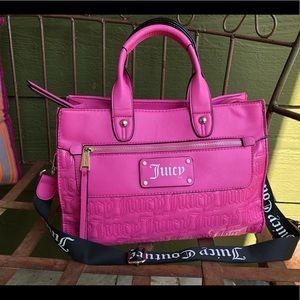 Hot pink Juicy Couture bag NWOT!!